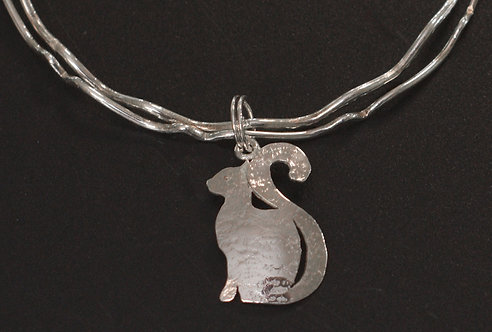 PETS - STERLING SILVER CAT CHARM