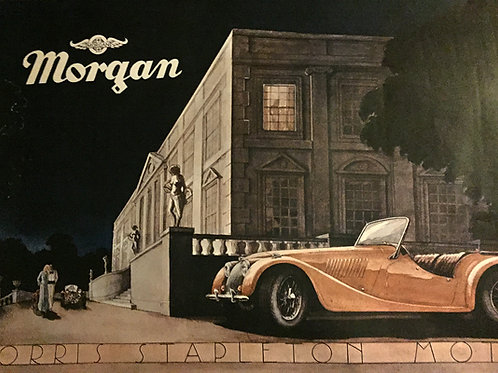 Morris Stapleton Morgan agent - poster