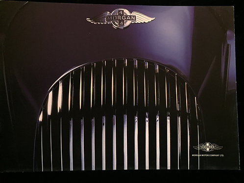 Morgan sales brochure, multi-page with brief history & photos