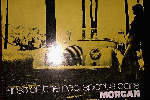 Morgan Motor Company brochure 1972