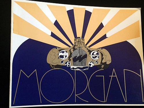 Morgan Art Deco brochure - Charles Morgan designed