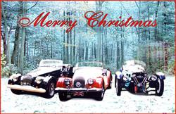 Morgan Car Holiday Card