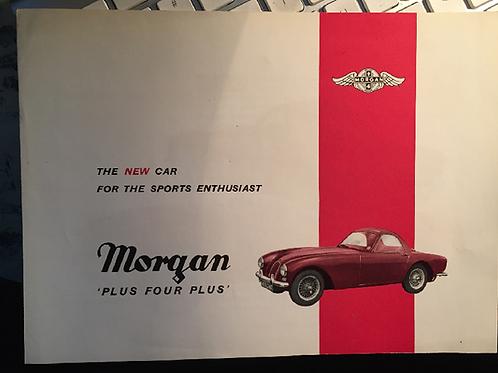 Morgan Plus 4 Plus brochure, mid 1960s.