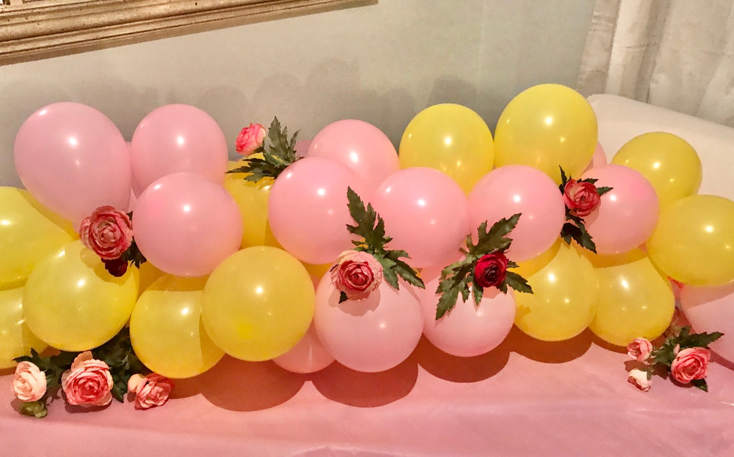 Balloon POP with florals