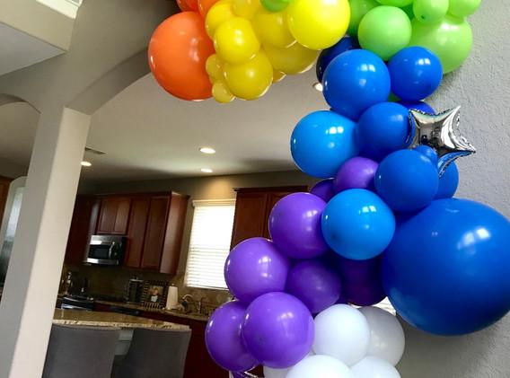 Rainbow Indoor Garland