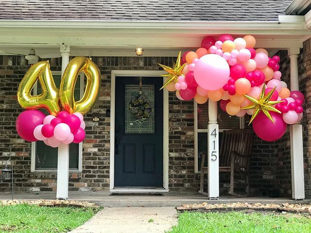40th Birthday Porch POP