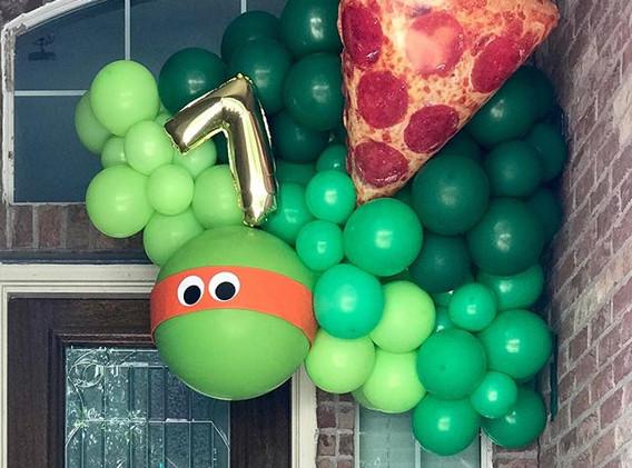 Ninja Turtle Porch POP