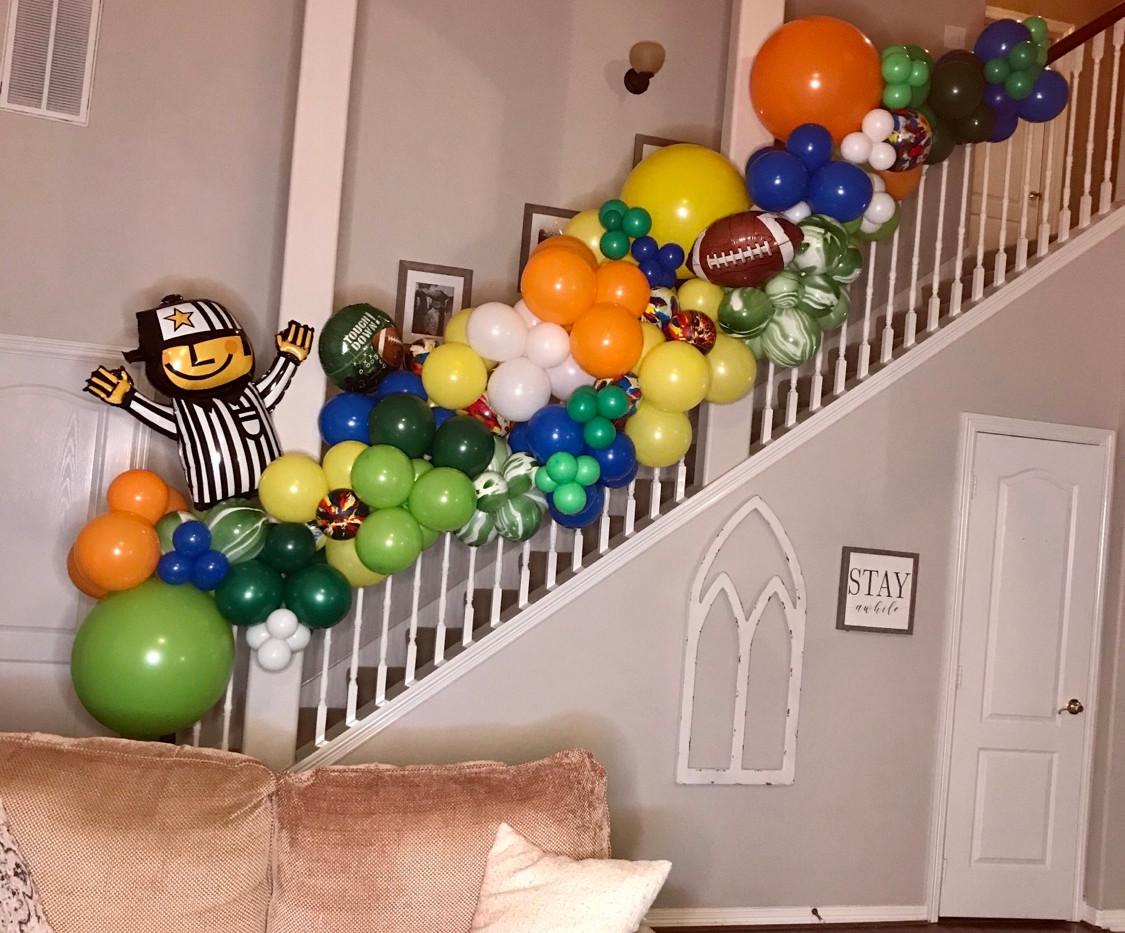 Football Indoor Stair POP