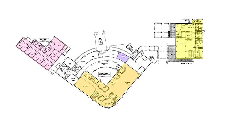 フルハウス施設レイアウト1階