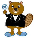 Beaver auction logo slippers.png