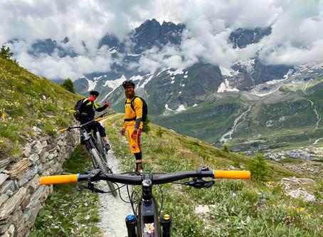 Tour enduro in e-bike con i Lupato brothers