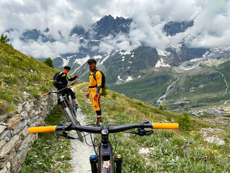 Tour enduro in e-bike con i Lupato brothers