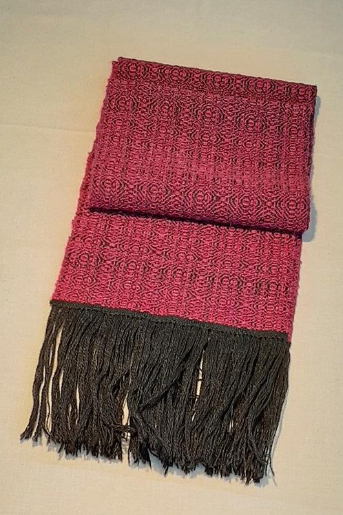 Silk Road Series 2 -  Fine Silk & Merino Scarf