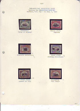 U.S. Stamp Collection Lot 1491, 219 through 1052