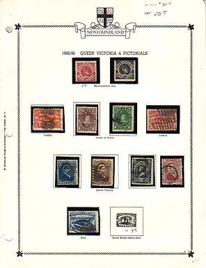 Newfoundland Starter Stamp Collection Lot 1349