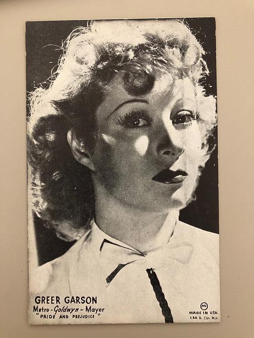 Vintage Greer Garson postcard MGM Actress