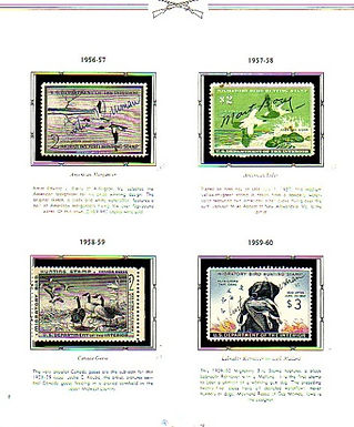 U.S. Federal Ducks Stamp Collection  Lot # 1140