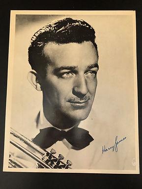 HARRY JAMES Big Band jazz musician ORIG Autographed 8X10 PHOTO