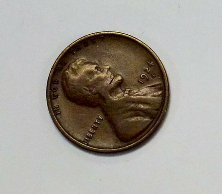 1924-S LINCOLN Cent, Goiter Neck Variety Error