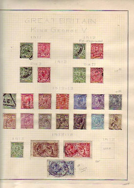 Great Britain - Edward VII to George VI Stamp Collection, Lot 1310