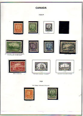 CANADA &  Provinces Stamp Collection Lot 1436