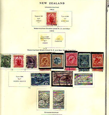 New Zealand Stamp Collection - Lot 1298