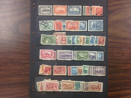 Canada Stamp Collection Lot 1571
