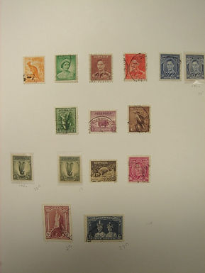 Australia Stamp Collection - Lot 1176