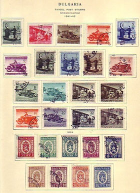 Bulgaria Stamp Collection, Scott pages to 1956 Lot 1409