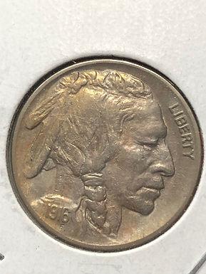 1916 Buffalo Nickel, AU - nice toning, Philadelphia Mint