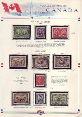 CANADA Stamp Collection Lot 1443 - Commemorative & Airmail issues,