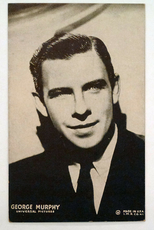 George Murphy Universal Pictures Hollywood Actor Vintage Mutoscope Postcard