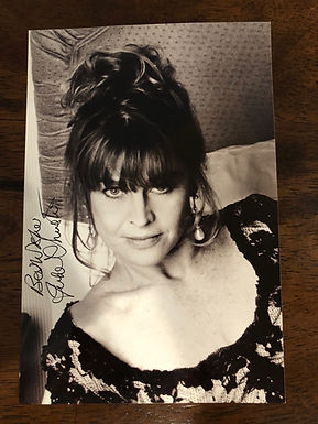JULIE CHRISTIE Actress known for Doctor Zhivago signed 4x6 photo