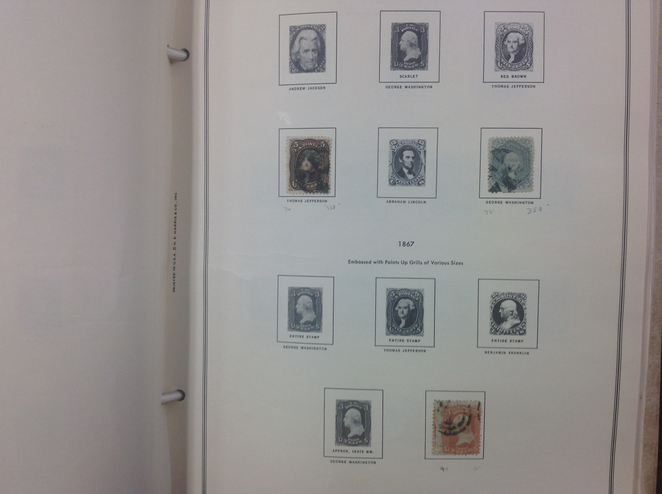 Thumbnail: U.S. Classic Stamp Collection, Lot 1583