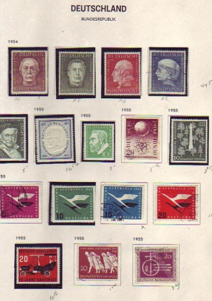Germany & Berlin Stamp Collection in DAVO album, Lot 1431