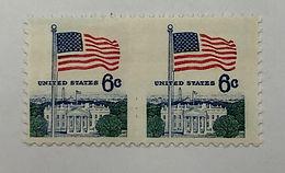 1338De, NH XF Horizontal Sheet Pair Stamps, Imperf Between