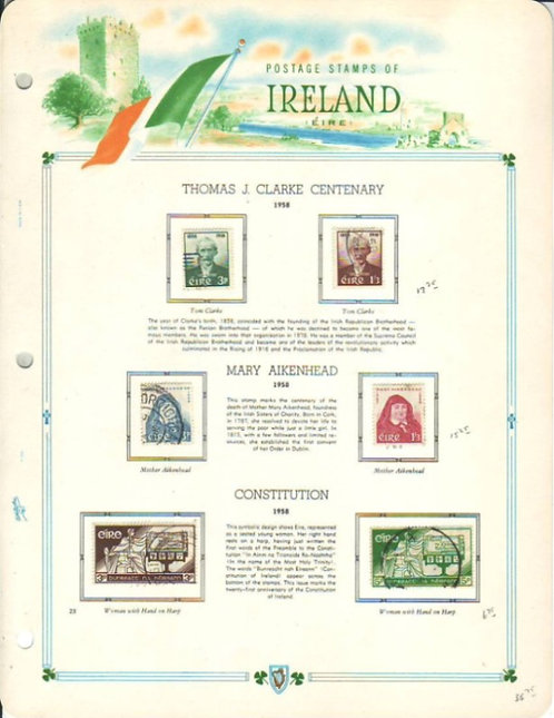 Ireland Stamp Collection, 1922 - 1990, Lot 1500