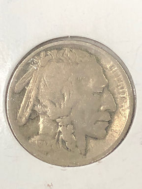 1914 S, Buffalo Nickel, Type 1, F