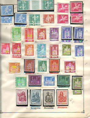 Switzerland Stamp Collection - Lot 1521