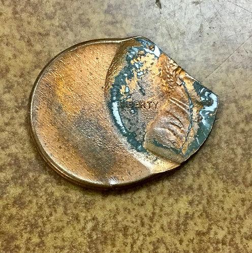 Lincoln Memorial zinc cent  ERROR