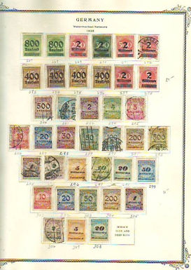 Germany Stamp Collection - In Scott Specialized album to 1971, Lot 1502