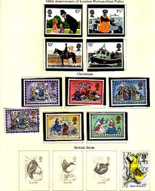 Great Britain Stamp Collection, Folder of early issues, Lot 926