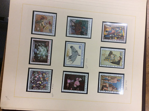 Art on Stamps, Topical Collection, Stamp Collection