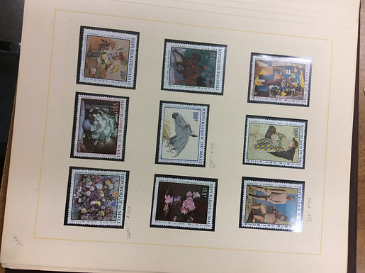 Art on Stamps, Topical Collection -Lot 1235