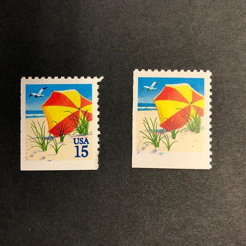 "Missing ""USA 15"" Stamp Error #2443c"
