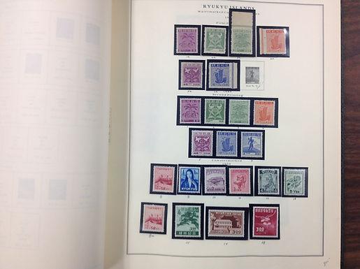 Ryukyu Islands Stamp collection -Lot 1569