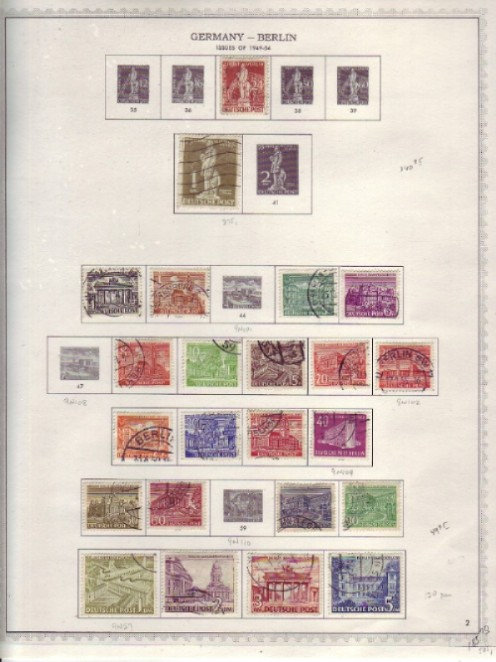 GERMANY Stamp Collection - 1948-1980, Lot 1452
