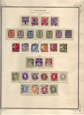 Denmark Stamp Collection to 1976, Lot 1445