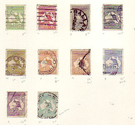 Australia Stamp Collection - Lot 1386