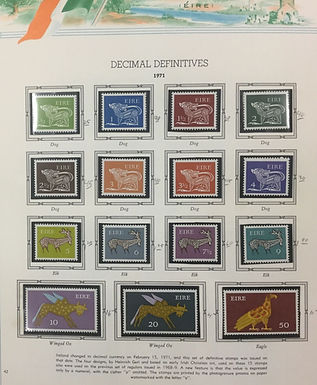 Ireland Stamp Collection 1922 - 1990